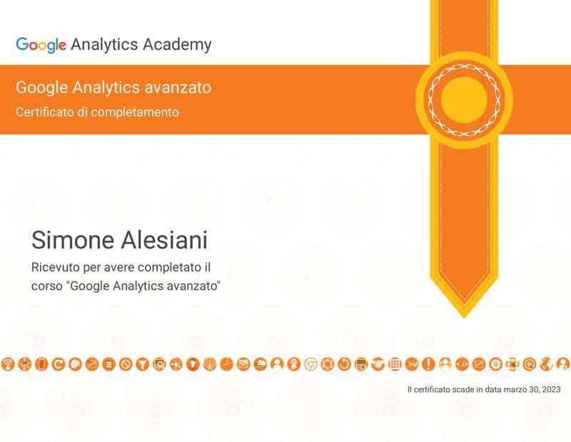 certificato-google-analytics-Avanzato-esperto-analytics-simone-alesiani